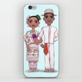 Mexican Couple - Yucatán iPhone Skin