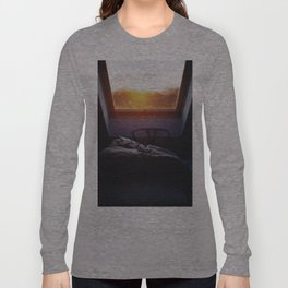 Sunset in bed Long Sleeve T-shirt