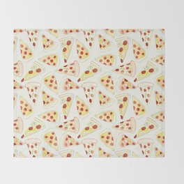 Plenty of Pizza Throw Blanket