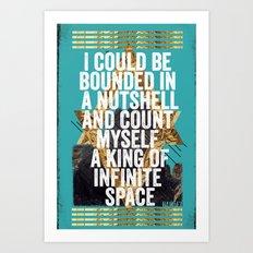 Hamlet Quote Art Print