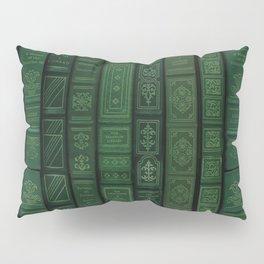"Extravagant Design Series: Vertical Book Pattern ""Bookbag"" Pillow Sham"