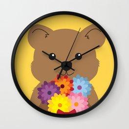 Quokka Wall Clock