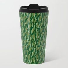 Camo Sharks Travel Mug