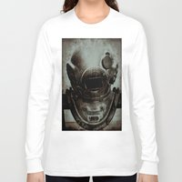 nemo Long Sleeve T-shirts featuring Captain Nemo by Bella Blue Photography