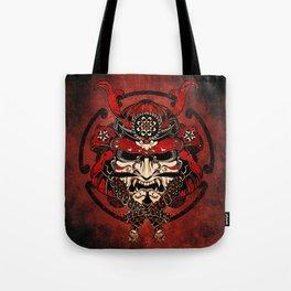 Samurai Mask, Budo, Bushido, Tote Bag