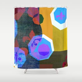 WONDERWORLD 1 Shower Curtain