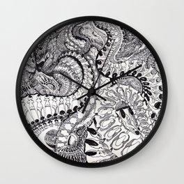Alien Phuturistik Phunk By: Matthew Crispell Wall Clock