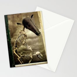 Pet Skeleton Stationery Cards