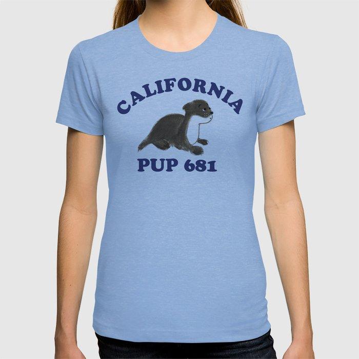 cali blue T-shirt