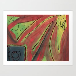 Window Sunsets Art Print