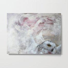 685 Harfang - Snowy Owl  Metal Print