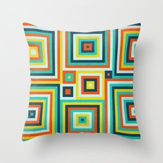 Be Squared! Throw Pillow