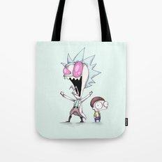 Zim & Morty Tote Bag
