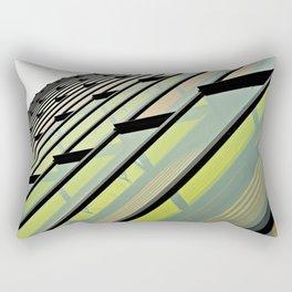 Vivid Windows Rectangular Pillow