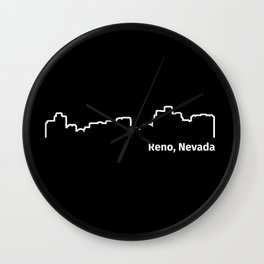 Reno, Nevada Wall Clock