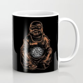 Belly Clock Buddha Coffee Mug