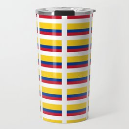 Flag of Colombia 2 -Colombian,Bogota,Medellin,Marquez,america,south america,tropical,latine america Travel Mug