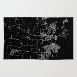 Mackay map Australia Rug