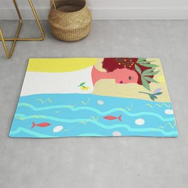 Selemnos-the river of oblivion Rug