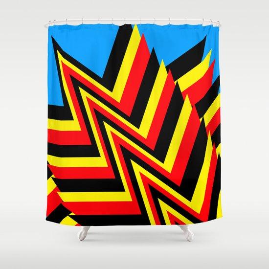 Swishy-Swashy Shower Curtain