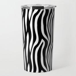 Zebra Print Travel Mug