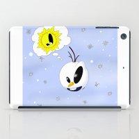 olaf iPad Cases featuring Olaf in BoO©&Friends by oONekoGirloO