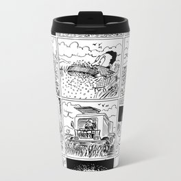Burger Metal Travel Mug