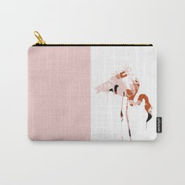 Pink Flamingo. Urban Wildlife Carry-All Pouch