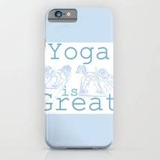 Yoga Is Great : Blues Take Two iPhone 6s Slim Case