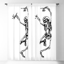 Dancing Skeleton | Day of the Dead | Dia de los Muertos | Skulls and Skeletons | Blackout Curtain