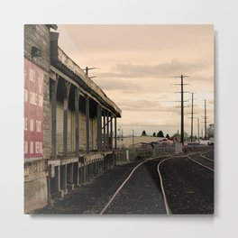 Industrial Redmond Metal Print