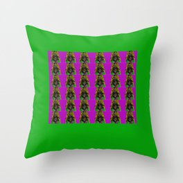 Pamela Anderson Throw Pillow
