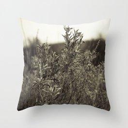 Fall Textures Throw Pillow