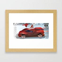 Sport car Framed Art Print