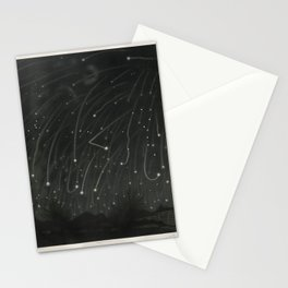 The Trouvelot Astronomical Drawings (1881) - The November Meteors, 1868The November meteors. As obse Stationery Cards