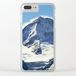 Mount Aspiring Clear iPhone Case