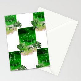 Monstera Daddy Stationery Cards