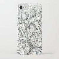 lace iPhone & iPod Cases featuring Lace by Irina  Mushkar'ova