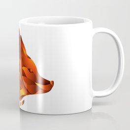 Icon of decorative fox head Coffee Mug