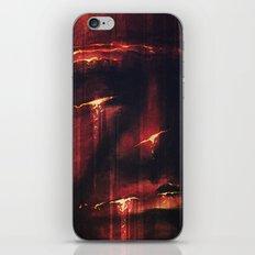 Red I iPhone & iPod Skin