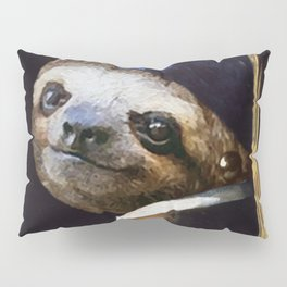 The Sloth with a Pearl Earring Pillow Sham