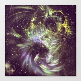 Twisted Time - Black Hole Effects Canvas Print