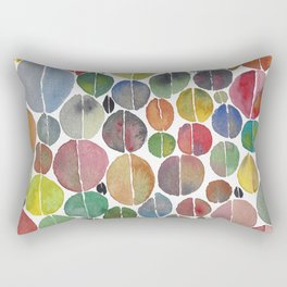 Multi-colored coffee beans Rectangular Pillow