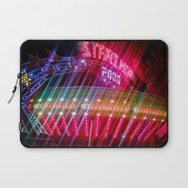All Aboard the Starship carnival ride Laptop Sleeve
