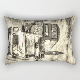 Westminster Bridge Vintage Art Rectangular Pillow