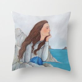Sirocco weather Throw Pillow