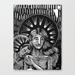The kind love Canvas Print
