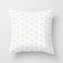 Shapes & Colors Throw Pillow