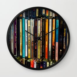 Music Cds Wall Clock