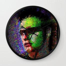 Brandophile. A portrait of Marlon Brando. Wall Clock